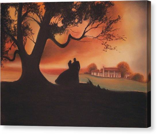 Gone With The Wind Canvas Print - Gone With The Wind by Amani Warrington