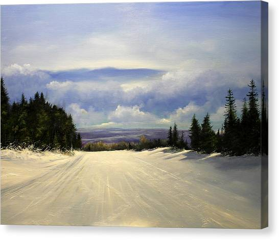 Gonna Snow Again Canvas Print