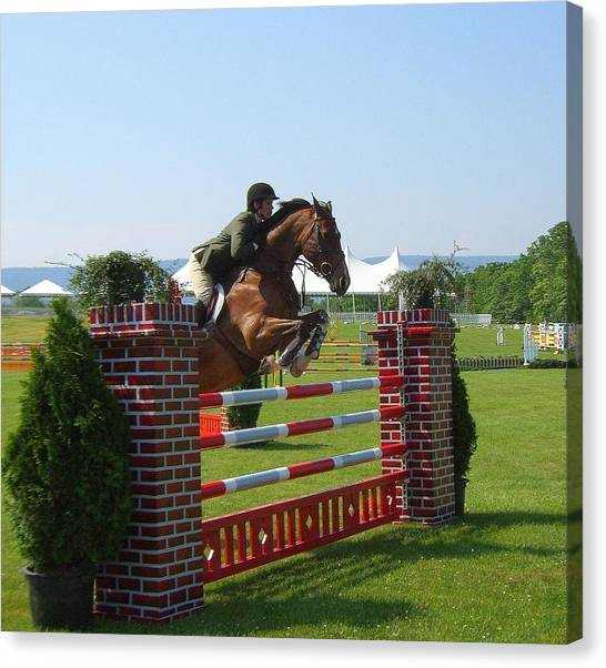 good form at Upperville Canvas Print