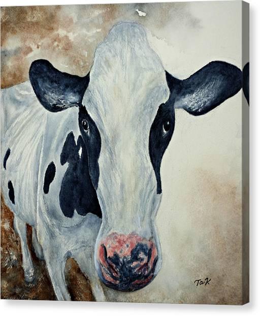Good Mooo To Youuu Canvas Print