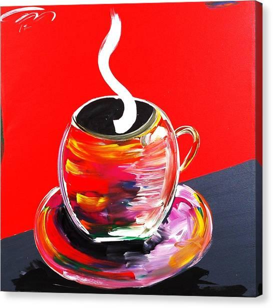 Good Morning America Canvas Print by Mac Worthington