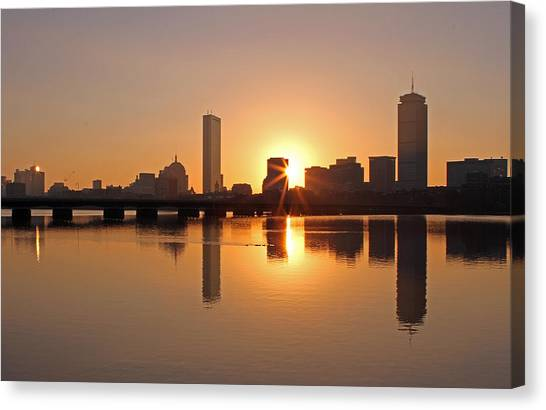 Good Morning Boston Canvas Print by Juergen Roth