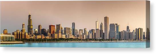 Chicago Canvas Print - Good Morning Chicago by Sebastian Musial