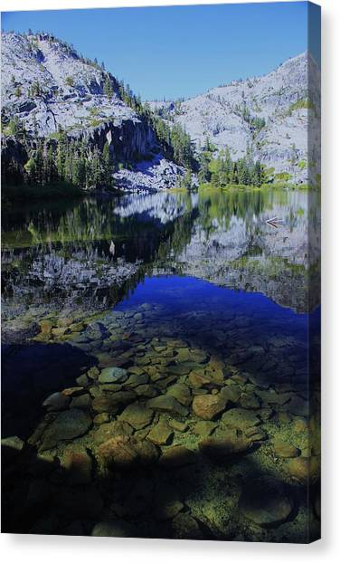 Canvas Print featuring the photograph Good Morning Eagle Lake by Sean Sarsfield