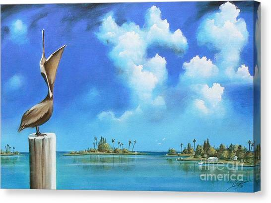 Good Morning Florida Canvas Print