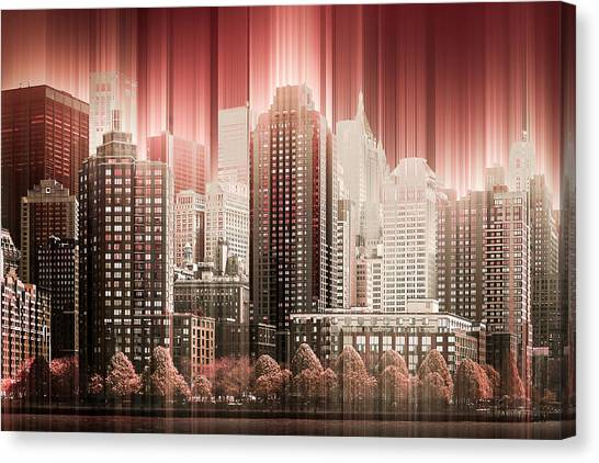 Good Morning Hudson Canvas Print