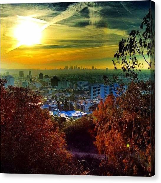Wine Canvas Print - #good #morning #la #runyon #yeahbuddy by Thewinery Wine