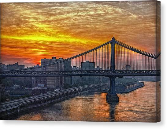 Good Morning New York Canvas Print