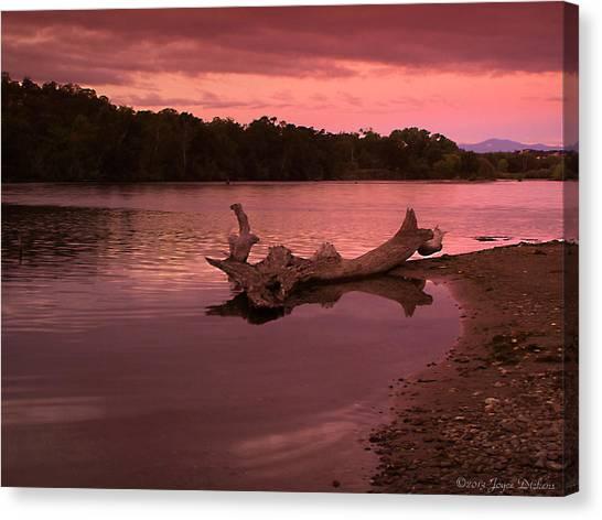 Good Morning Sacramento River Canvas Print