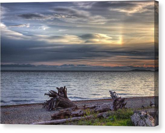 San Pareil Sunrise Canvas Print
