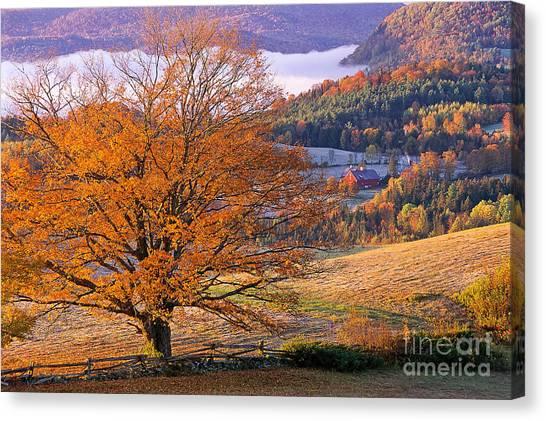 Good Morning Vermont Canvas Print