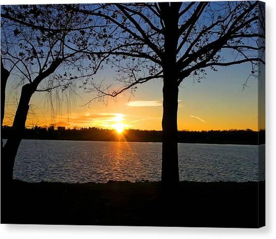 Good Night Potomac River Canvas Print