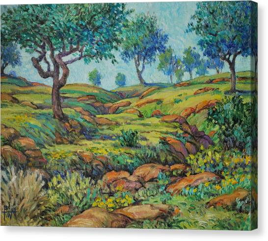 Good Pasture Poor Land For Farming Canvas Print by Henry Potwin