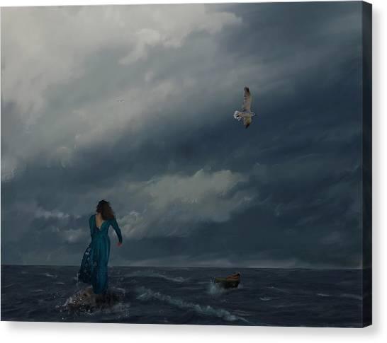 Goodbye Esmeralda Canvas Print by Hazel Billingsley