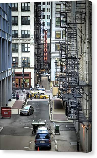 Crowd Canvas Print - Goodman Chicago by Scott Norris