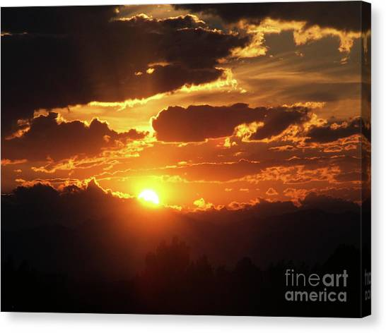 Goodnight Denver Canvas Print