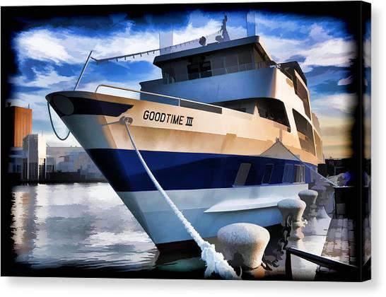 Goodtime IIi - Cleveland Ohio Canvas Print