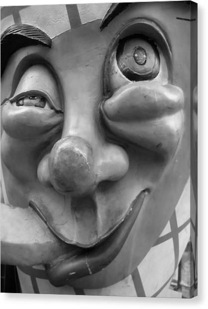 Goof By Darryl Kravitz Canvas Print by Darryl  Kravitz