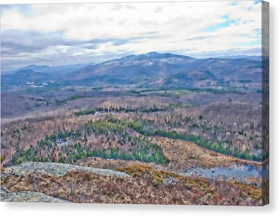 Gore Mountain North Creek Canvas Print
