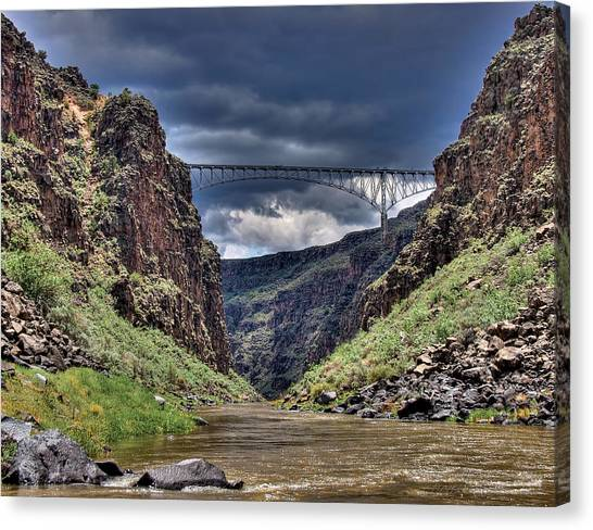 Gorge Bridge Canvas Print