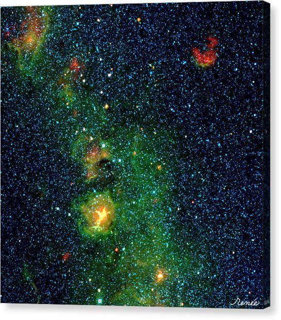 Gorgeous Galaxy Canvas Print
