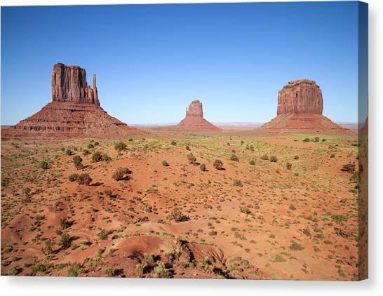 Mittens Canvas Print - Gorgeous Monument Valley by Melanie Viola