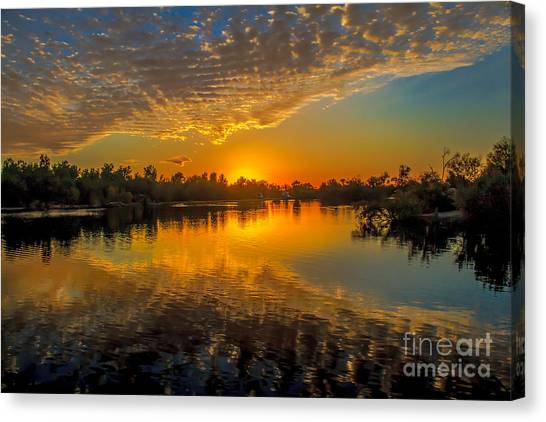 Sublime Canvas Print - Gorgeous Sunset  by Robert Bales