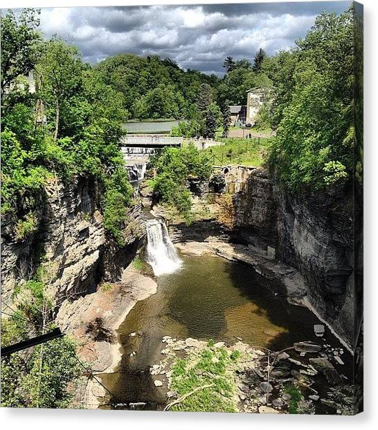 Beautiful Canvas Print - Gorges by Mike Maher