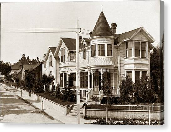 C.k. Tuttle Canvas Print - Gosby House Pacific Grove California  Circa 1900 by California Views Archives Mr Pat Hathaway Archives