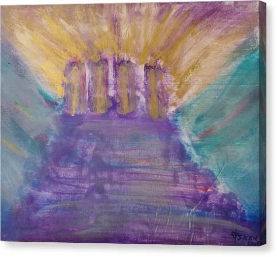 Gospel Pillars Canvas Print