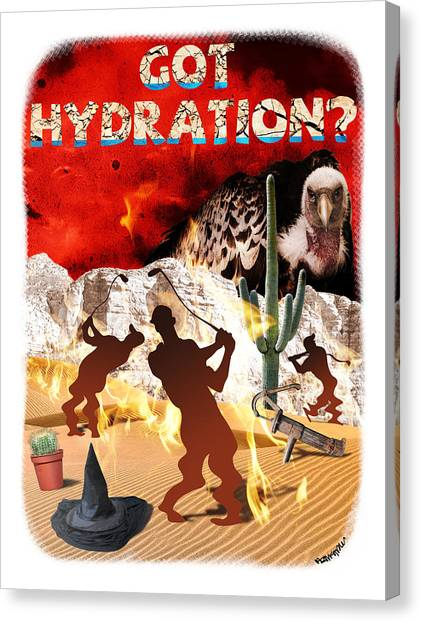 Got Hydration? Canvas Print