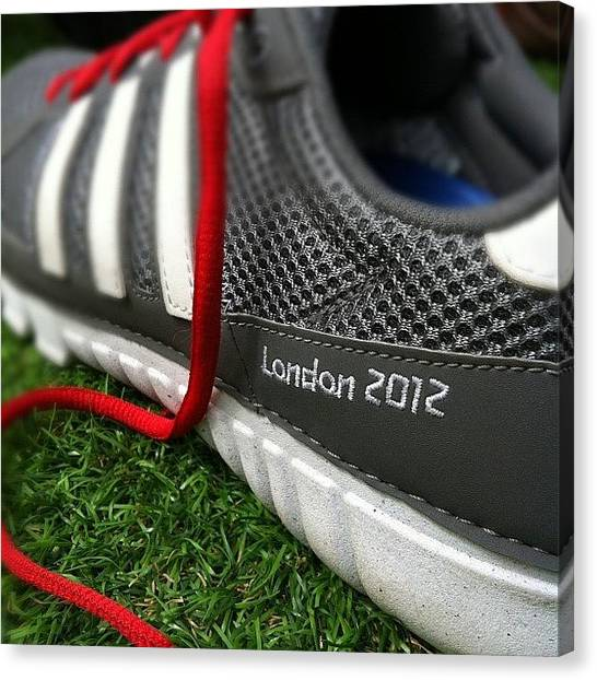 London2012 Canvas Print - Got Some New Trainers... #london2012 by Niall Russell