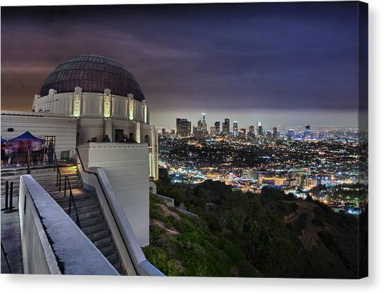 Gotham Griffith Observatory Canvas Print
