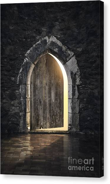 Dungeons Canvas Print - Gothic Light by Carlos Caetano