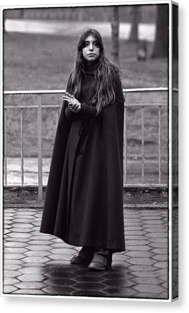 Gothic Miss Canvas Print by Hal Norman K