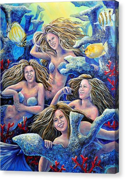 Goulden Maids Canvas Print