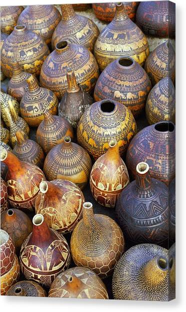 Gourds In Kenya Canvas Print