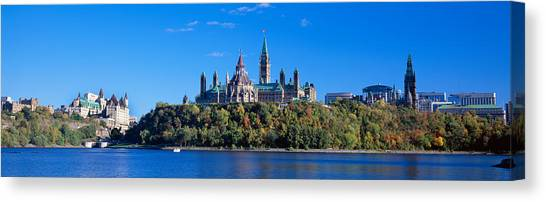 Parliament Hill Canvas Print - Government Building On A Hill by Panoramic Images