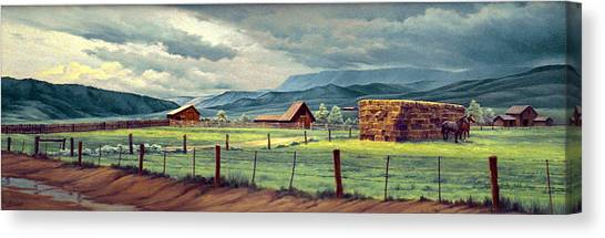 Colorado Canvas Print - Granby Ranch by Paul Krapf