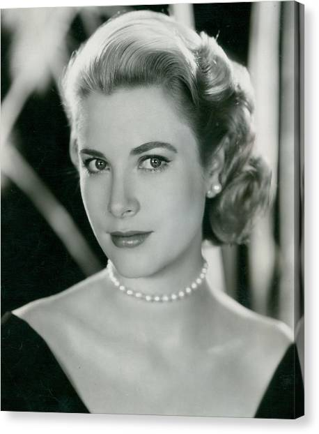 Grace Kelly Canvas Print - Grace Kelly by Retro Images Archive