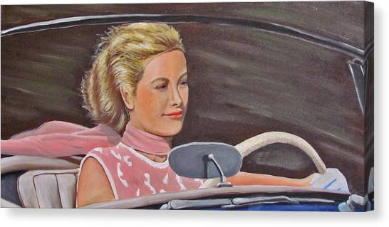 Grace Kelly - To Catch A Thief Canvas Print