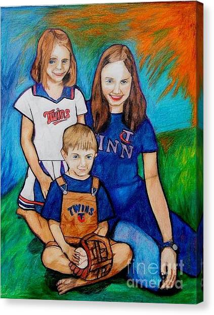 Grace Noah Aleesha Canvas Print