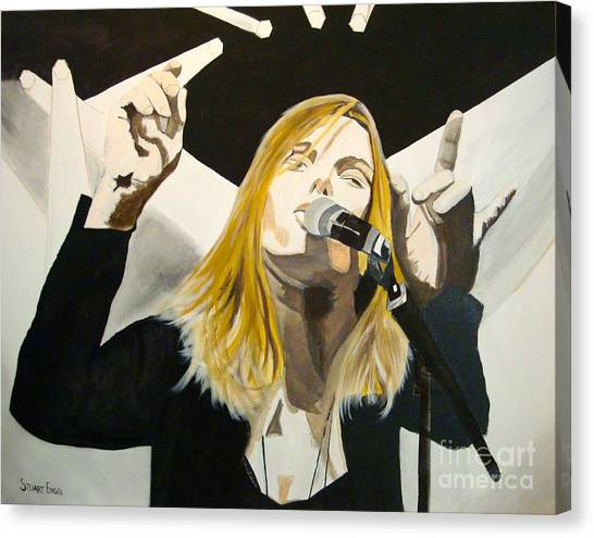 Grace Potter At The Peel Canvas Print