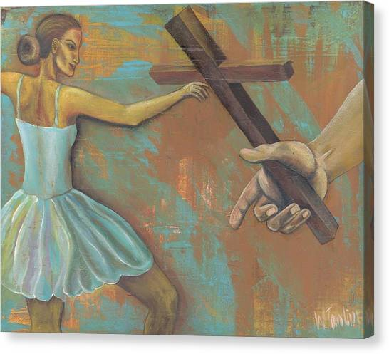 'grace Was Given' Canvas Print