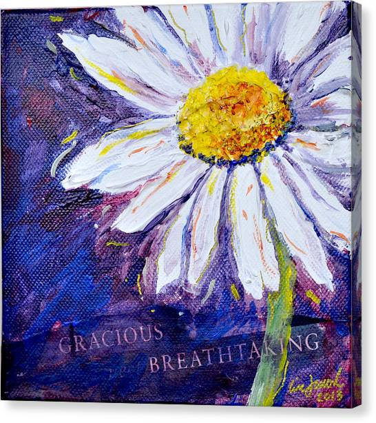 Gracious Daisy Canvas Print