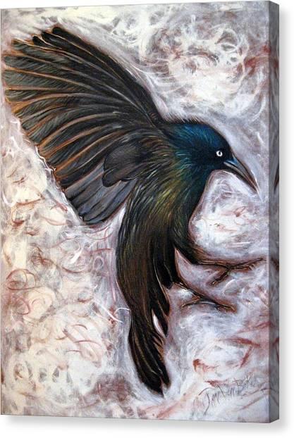Grackle Canvas Print