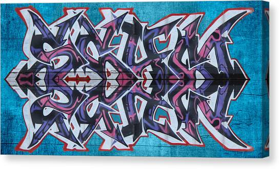 Dean Russo Canvas Print - Graffiti - Arrows by Graffiti Girl
