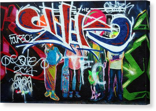 Graffiti Art Canvas Print