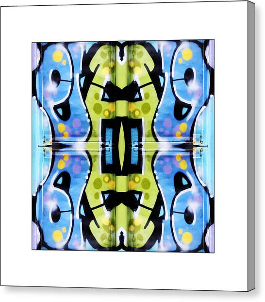 Graffiti Canvas Print by Don Powers