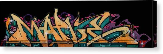 Dean Russo Canvas Print - Graffiti - Lady M by Graffiti Girl